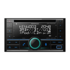Kenwood DPX-7200DAB Sintolettore CD/USB con Bluetooth & Digital Radio DAB+ integrati, Spotify & Amazon Alexa ready