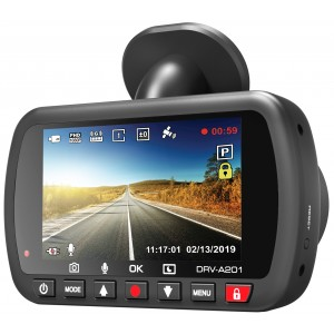 DRV-A201 DashCam Full HD con GPS integrato