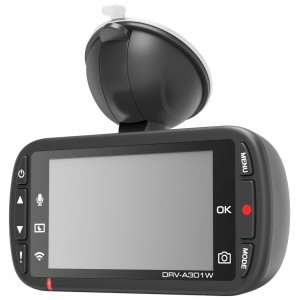 Kenwood DRV-301W DashCam Full HD con Wireless LAN & GPS