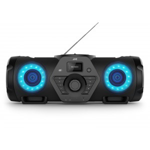 JVC RV-NB300DAB BoomBlaster con CD, USB, DAB+ e streming audio Bluetooth
